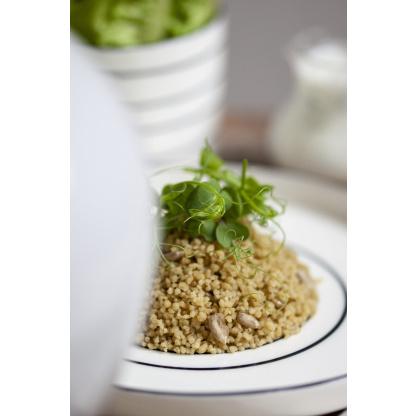 Couscous Gerstengras Mix garniert
