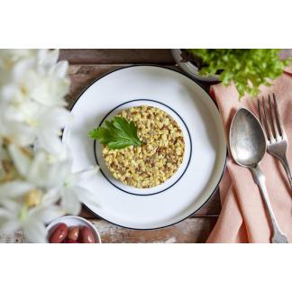 Curry Reis Mix auf Teller