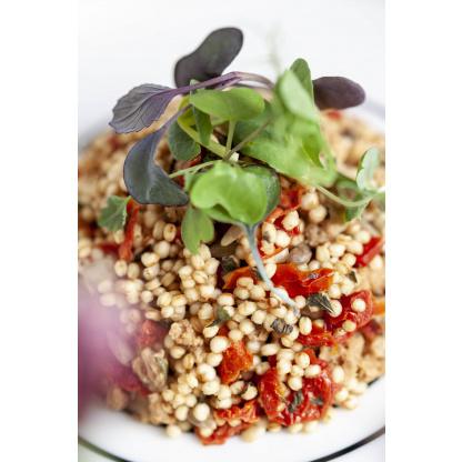 Quinoa Paradeiser Mix Nahaufnahme