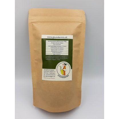 Quinoa Paradeiser Mix in Verpackung von hinten