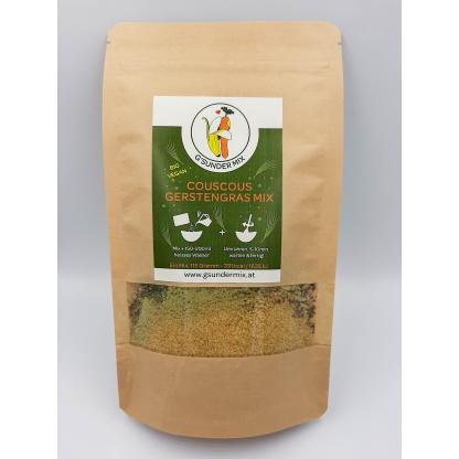 Couscous Gerstengras Mix Verpackung von vorne