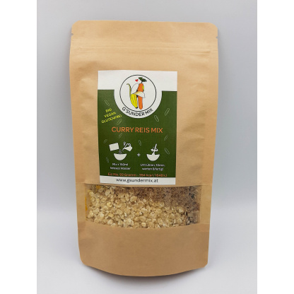 Curry Reis Mix Verpackung von vorne