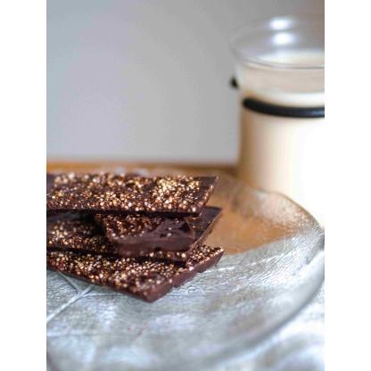 Schokolade mit Amaranth