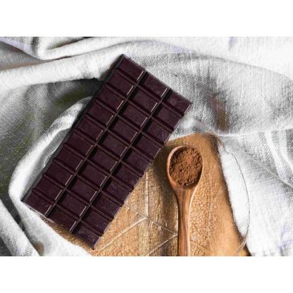 Schokolade auf Teller
